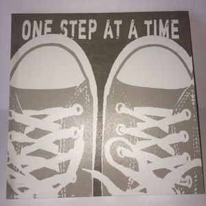 ONE STEP AT A TIME- Canvas Picture/Wall Deco